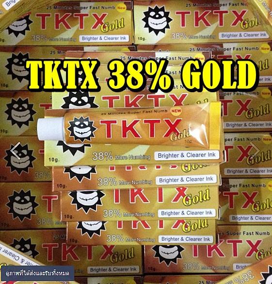 ยาชาtktx38 gold 0001